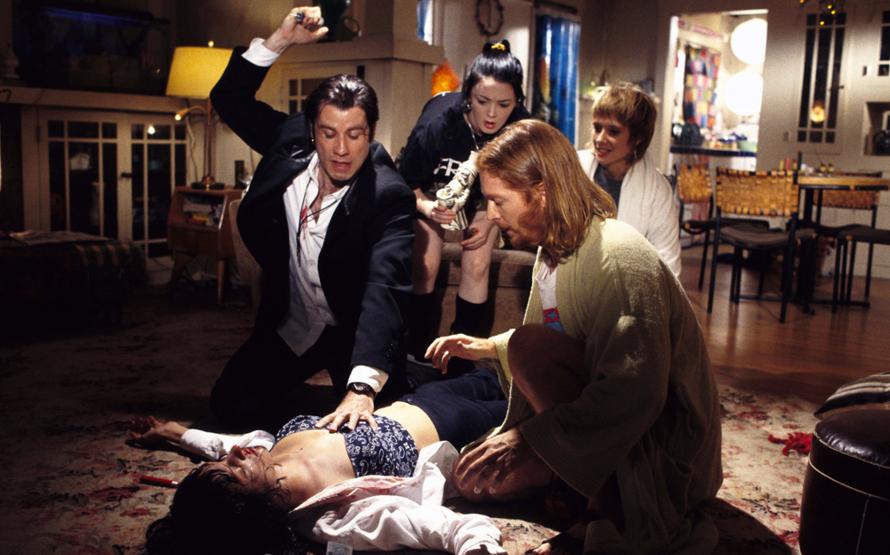 Pulp Fiction Syringe Scene