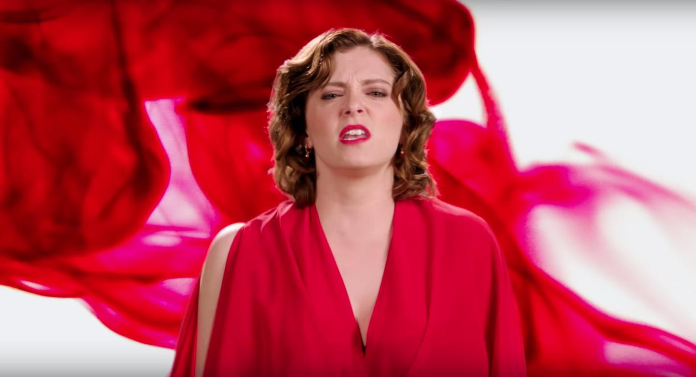 Sex på period video
