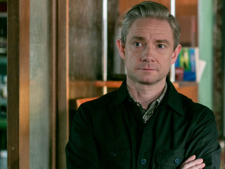Sherlock, Season 4 Sundays January 1 - 15 On MASTERPIECE Mystery! on PBS Picture shows: John Watson (MARTIN FREEMAN) For editorial use only. Not for use on social media. Courtesy of Hartswood Films & MASTERPIECE