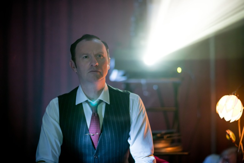 Sherlock, Season 4 MASTERPIECE Mystery! on PBS Sunday, January 15th at 7pm ET Picture shows: Mycroft Holmes (MARK GATISS) For editorial use only. Not for use on social media. Courtesy of Laurence Cendrowicz/Hartswood Films for MASTERPIECE