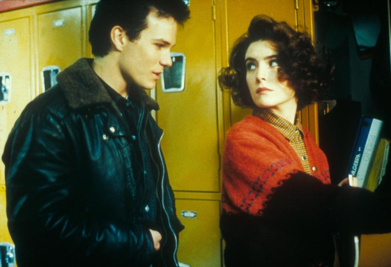 "James Marshall and Lara Flynn Boyle in ""Twin Peaks."""