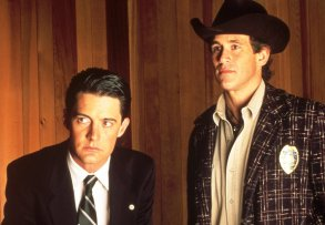 No Merchandising. Editorial Use Only Mandatory Credit: Photo by SNAP/REX/Shutterstock (390853ch) FILM STILLS OF 'TWIN PEAKS' WITH 1990, KYLE MacLACHLAN, MICHAEL ONTKEAN IN 1990 VARIOUS