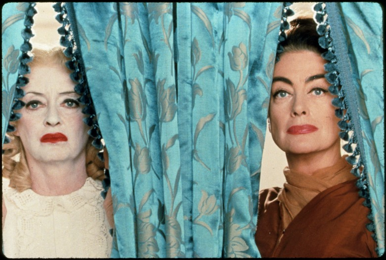"Bette Davis and Joan Crawford, Movie still of ""What Ever Happened to Baby Jane?"""