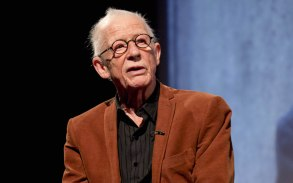 """John Hurt at """"The Last Panthers"""" premiere, October 2015"""