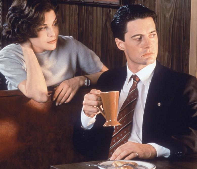"""Sherilyn Fenn and Kyle MacLachlan in """"Twin Peaks."""""""