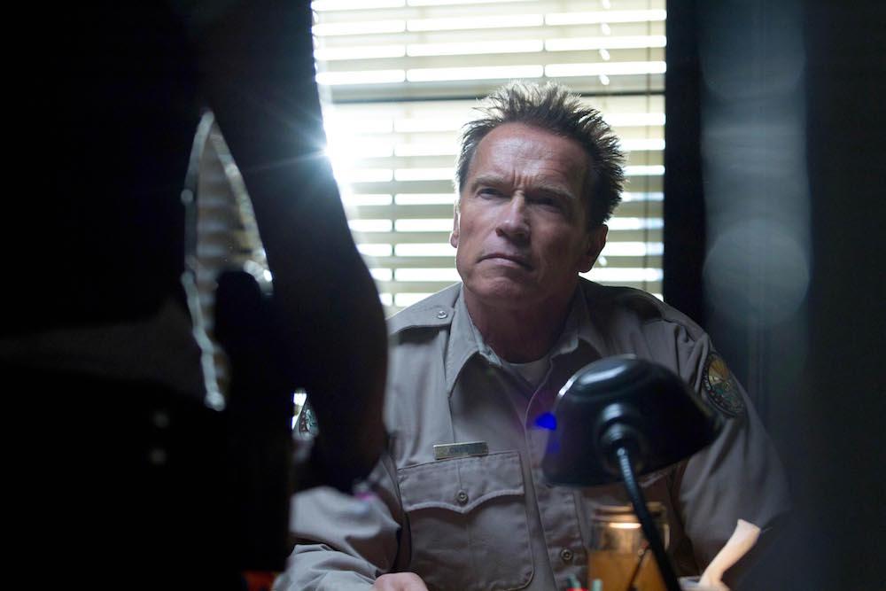 Arnold Schwarzenegger The Last Stand - 2013 Director: Jee-Woon Kim Di Bonaventura Pictures USA Scene Still Le dernier rempart