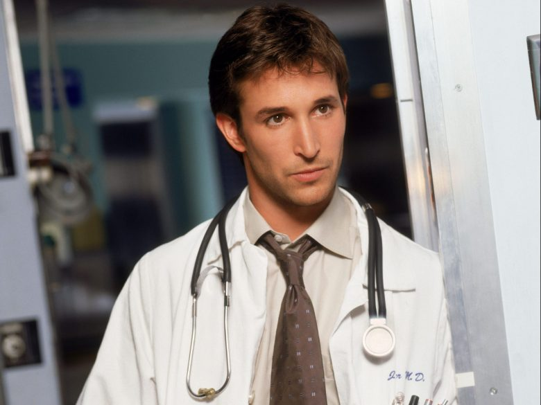 No Merchandising. Editorial Use Only. No Book Cover Usage. Mandatory Credit: Photo by Robert Trachtenberg/Warner B/REX/Shutterstock (5885629m) Noah Wyle Er Emergency Room - 1994 Warner Bros TV/Amblin TV USA Television