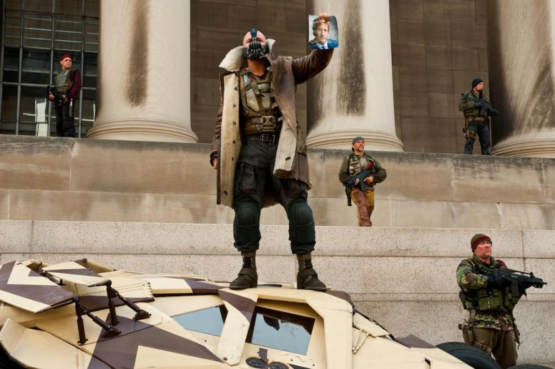 Tom Hardy as Bane in The Dark Knight Rises Donald Trump inauguration speech