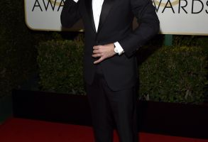 Jimmy Fallon at the Golden Globes