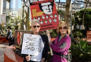 Jamie Lee Curtis Jane Fonda Women's March