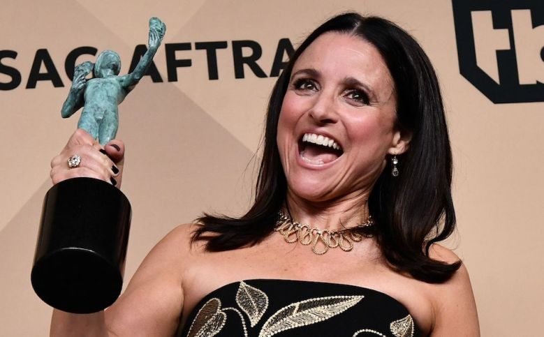 Julia Louis-Dreyfus The 23rd Annual Screen Actors Guild Awards, Press Room, Los Angeles, USA - 29 Jan 2017