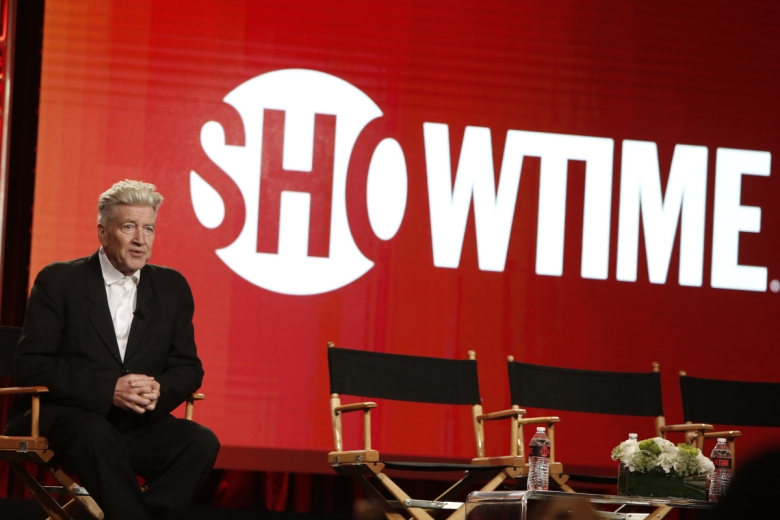David Lynch at Showtime's Winter TCA press tour panel