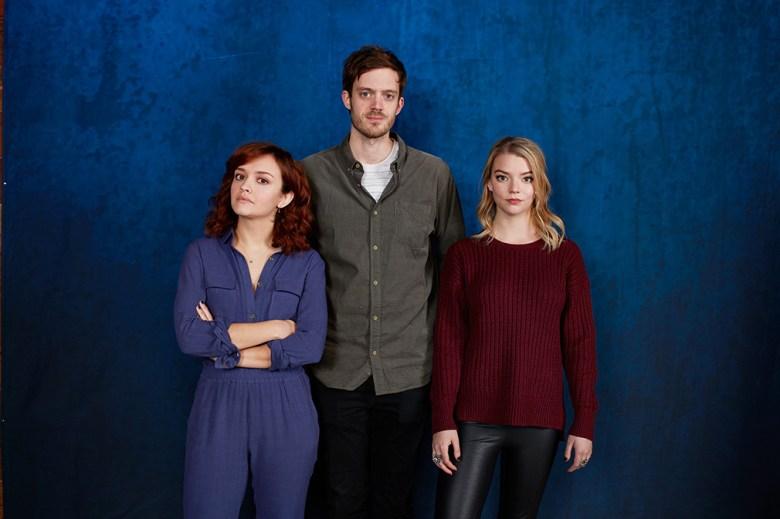 Olivia Cooke, director Cory Finley, Anya Taylor-Joy