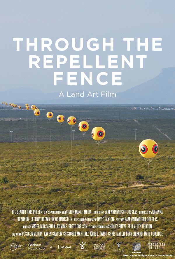 Through the Repellent Fence: A Land Art Film poster