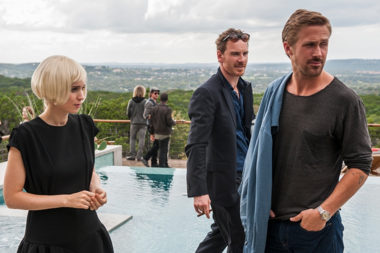 "Rooney Mara, Michael Fassbender and Ryan Gosling in ""Song to Song"""