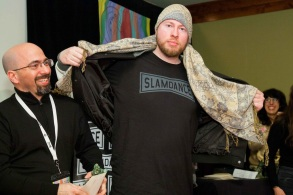 """""""Strad Style"""" director Stefan Avalos and subject Danny Houck"""
