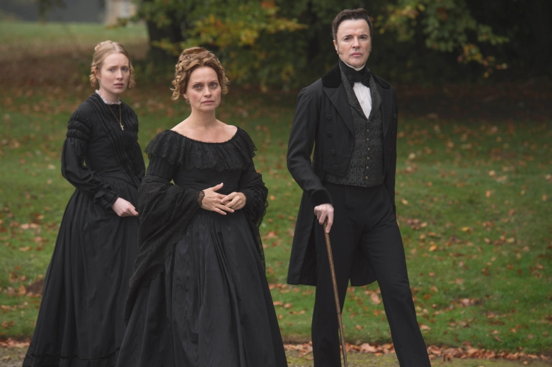 "Alice Orr-Ewing, Catherine Flemming and Paul Rhys in ""Victoria"""