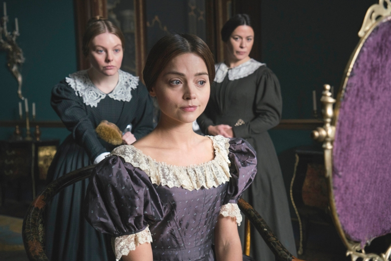 "Nell Hudson, Jenna Coleman and Eve Myles on ""Victoria"""