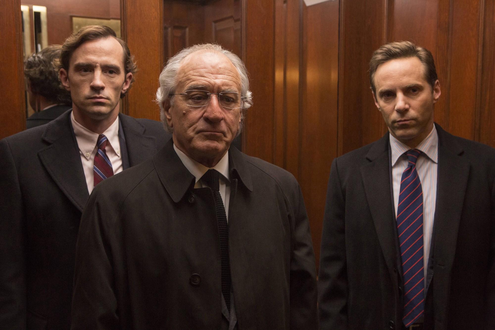 Wizard of Lies Nathan Darrow, Robert De Niro, Alessandro Nivola