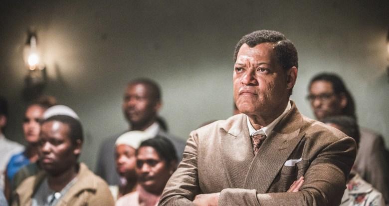 "Laurence Fishburne in ""Madiba"""
