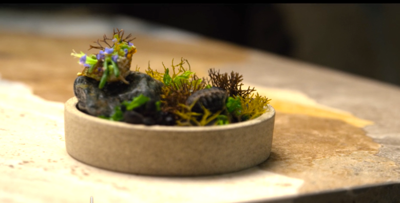 "Spiders on a Rock by Chef Virgilio Martinez, ""Chef's Table"""
