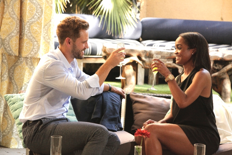"Nick Viall and Rachel Lindsay on ""The Bachelor"""