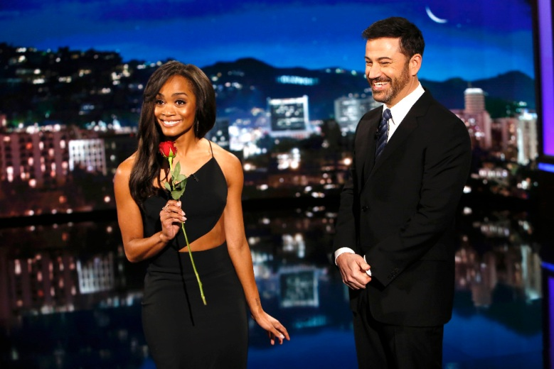 "Rachel Lindsay named the new ""Bachelorette"" on ""Jimmy Kimmel Live"""