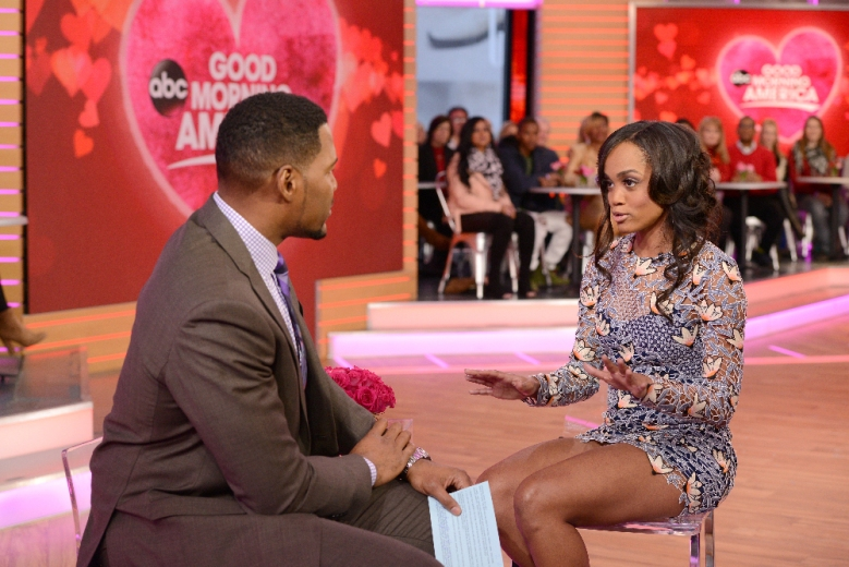 "Michael Strahan and Rachel Lindsay, ""Good Morning America"""