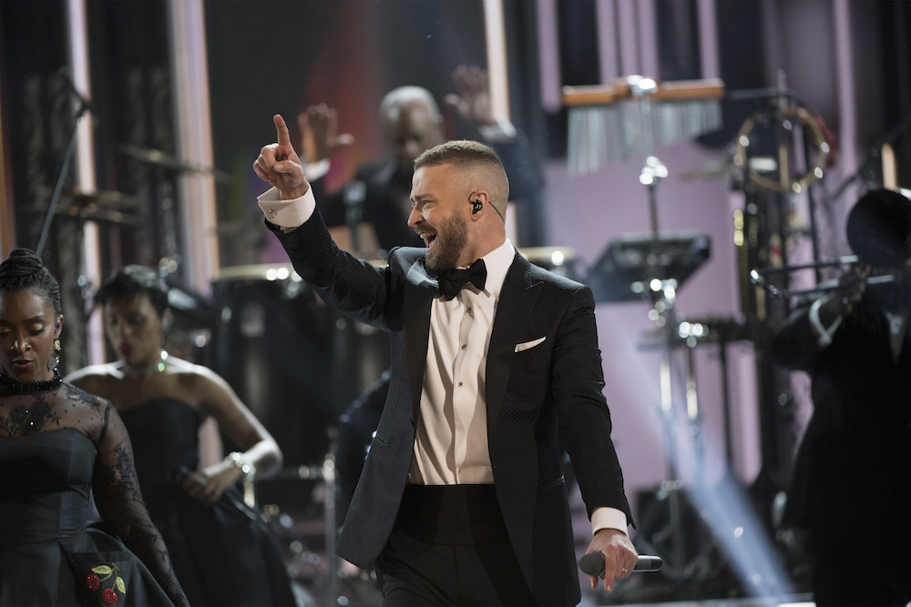Oscars 2017 JUSTIN TIMBERLAKE The 89th Academy Awards