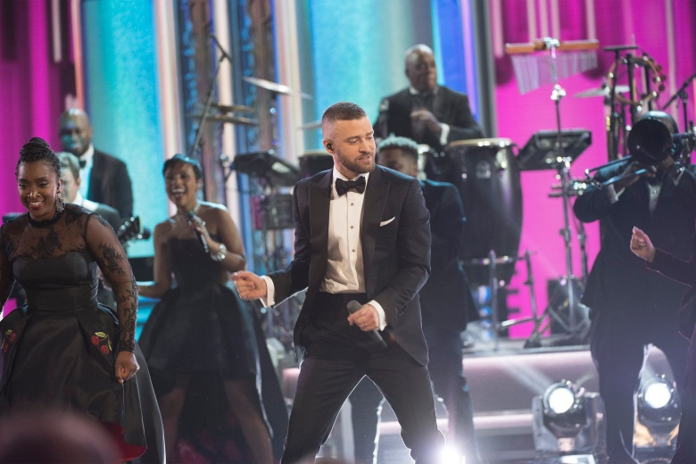 THE OSCARS(r) - The 89th Oscars(r) broadcasts live on Oscar(r) SUNDAY, FEBRUARY 26, 2017, on the ABC Television Network. (ABC/Eddy Chen)JUSTIN TIMBERLAKE
