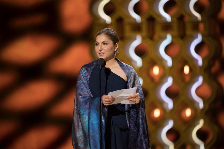 THE OSCARS(r) - The 89th Oscars(r) broadcasts live on Oscar(r) SUNDAY, FEBRUARY 26, 2017, on the ABC Television Network. (ABC/Eddy Chen)ANOUSHEH ANSARI