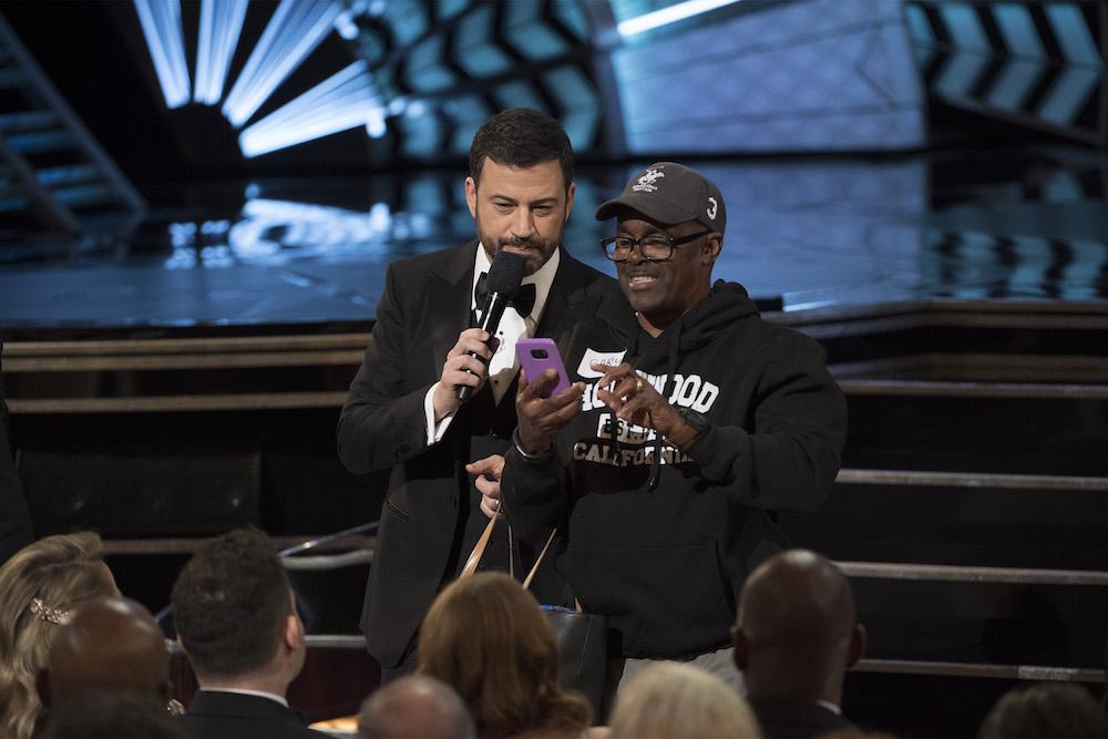 THE OSCARS(r) - The 89th Oscars(r) broadcasts live on Oscar(r) SUNDAY, FEBRUARY 26, 2017, on the ABC Television Network. (ABC/Eddy Chen)JIMMY KIMMEL