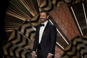 THE OSCARS(r) - The 89th Oscars(r) broadcasts live on Oscar(r) SUNDAY, FEBRUARY 26, 2017, on the ABC Television Network. (ABC/Eddy Chen)JIMMY KIMMEL