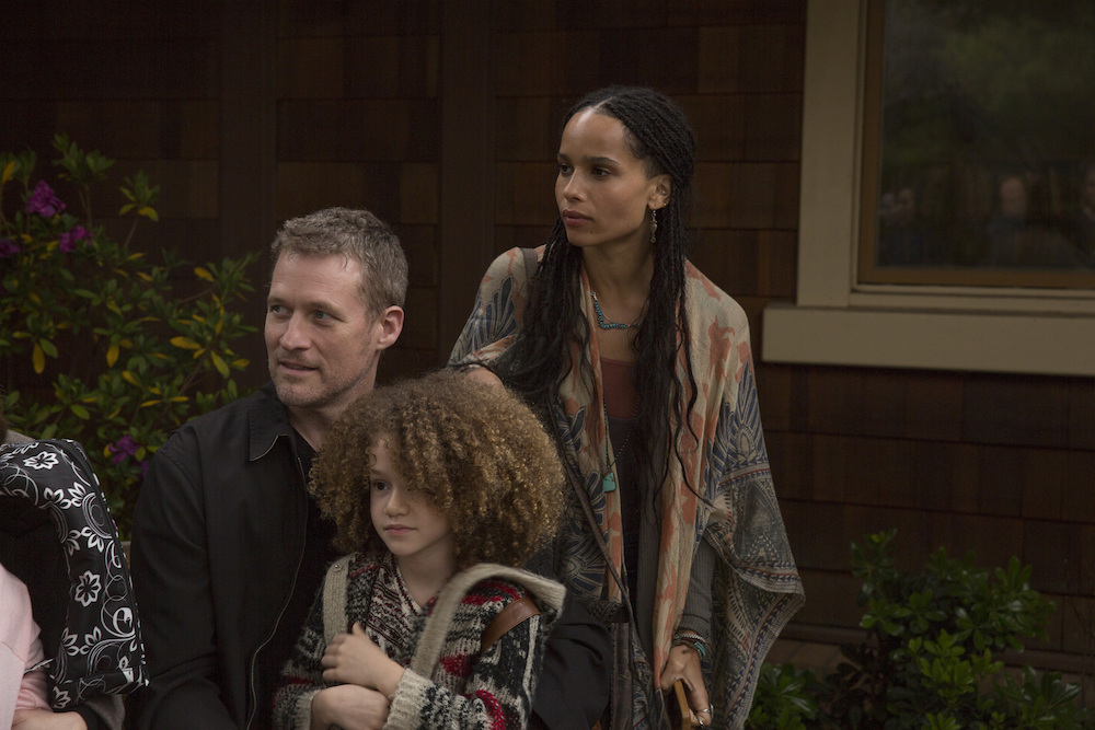"""Big Little Lies"" James Tupper, Chloe Coleman, Zoë Kravitz"