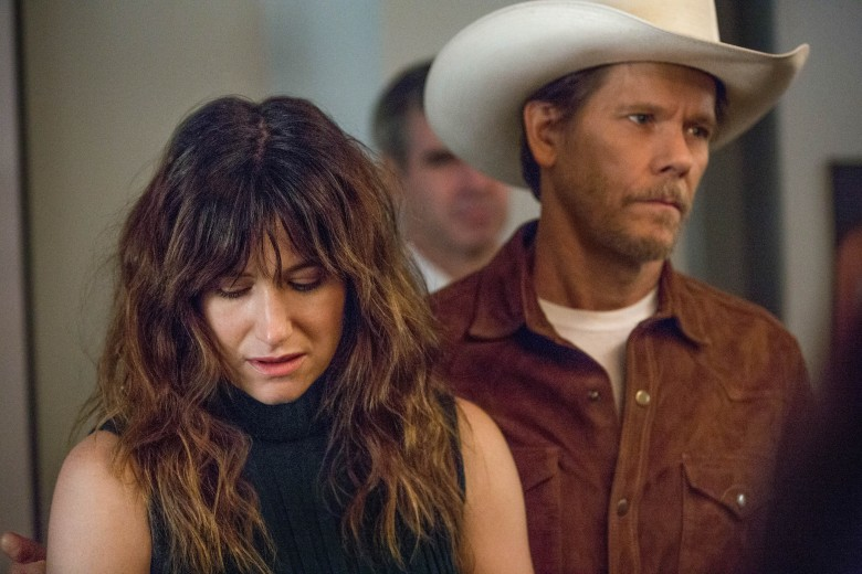 Kathryn Hahn and Kevin Bacon appear in I Love Dick by Jill Soloway, Andrea Arnold, Kimberly Peirce and Jim Frohna, an official selection of the Special Events program at the 2017 Sundance Film Festival. Courtesy of Sundance Institute | photo by Jessica Brooks.