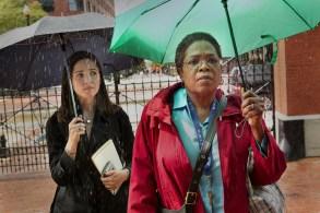 "Rose Byrne and Oprah Winfrey, ""The Immortal Life of Henrietta Lacks"""