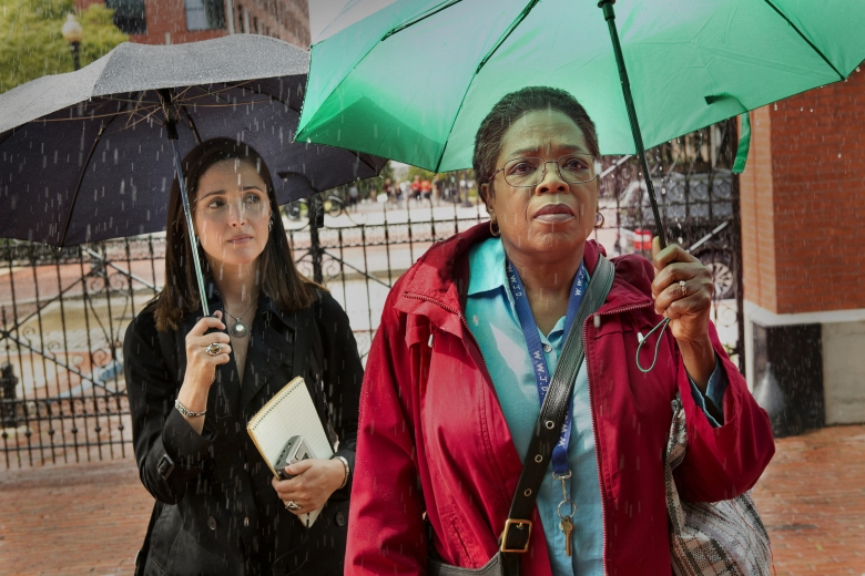 "Rose Byrne and Oprah Winfrey, ""The Immortal Life of Henrietta Lacks"""