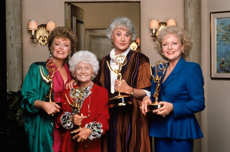 """The Golden Girls"" stars Rue McClanahan, Estelle Getty, Bea Arthur and Betty White"