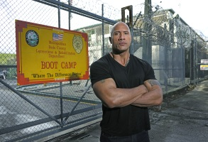 """Dwayne """"The Rock"""" Johnson, """"Rock and a Hard Place"""""""