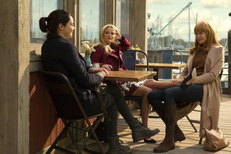 Big Little Lies Shailene Woodley, Reese Witherspoon, Nicole Kidman