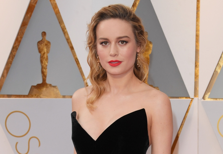 Brie Larson at the oscars