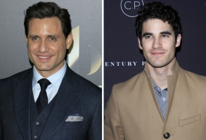 Edgar Ramirez and Darren Criss, Versace