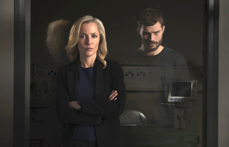 "Gillian Anderson and Jamie Dornan, ""The Fall"""