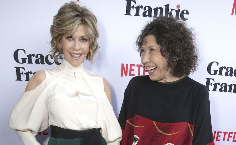 Grace and Frankie Season 2 Premiere Jane Fonda Lily Tomlin