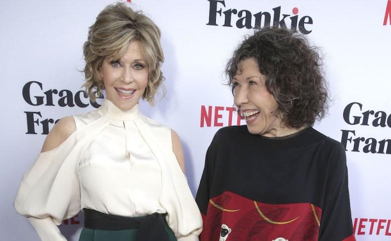 Grace and Frankie Season 2 Premiere Jane Fonda Lily Tomlin