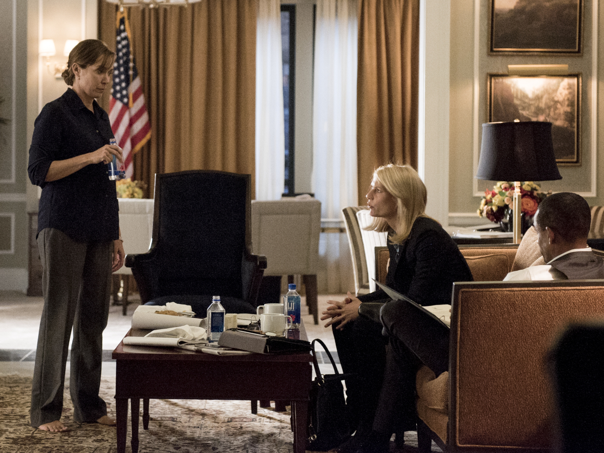 Homeland Season 6 Episode 4 Elizabeth Marvel Claire Danes
