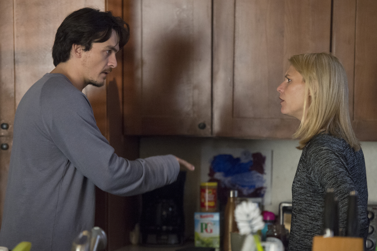 Homeland Season 6 Episode 4 Rupert Friend Claire Danes