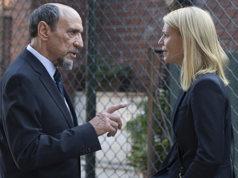 Homeland Season 6 Episode 4 F. Murray Abraham Claire Danes