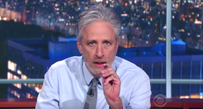 "Jon Stewart, ""The Late Show with Stephen Colbert"""