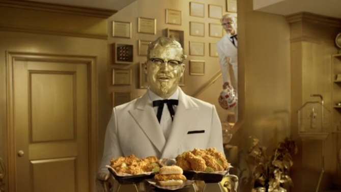 Billy Zane Rob Riggle KFC